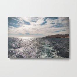 Beautiful Red Sea Metal Print