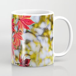 Red leaves in autumn Coffee Mug