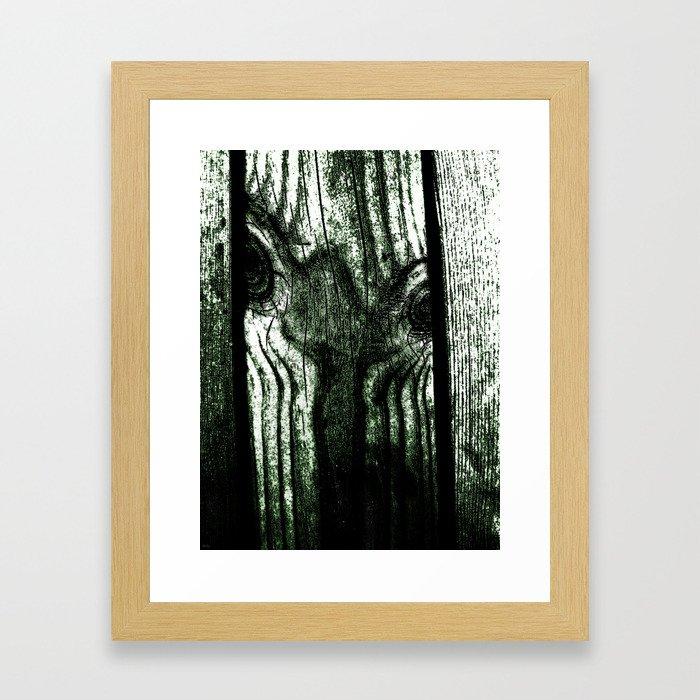 Freak in a tree Framed Art Print