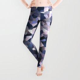 Purple Mosaic Pattern Leggings