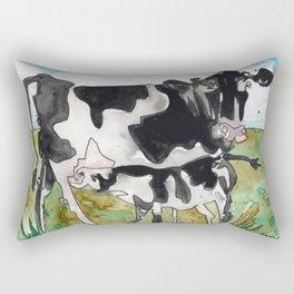 Cow Mommy Rectangular Pillow