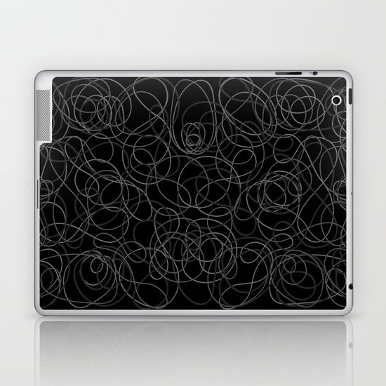 Time is elastic Laptop & iPad Skin