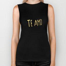 Te Amo II Biker Tank