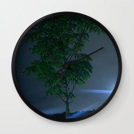 Melancholi A (plan B) Wall Clock