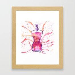 JPG Classique Perfume bottle Framed Art Print