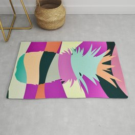 Sliced Abstract Ananas Rug