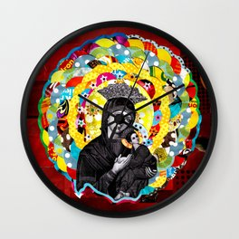 Nossa Senhora do Perpétuo Socorro (Our Lady of Perpetual Help) Wall Clock