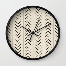 Mudcloth Wall Clock