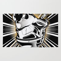 stormtrooper Area & Throw Rugs featuring Stormtrooper by Sheloner.