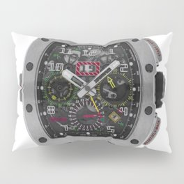 Richard Mille 11-02 Titanium Flyback Chronograph Dual Time Zone 50MM Watch Pillow Sham