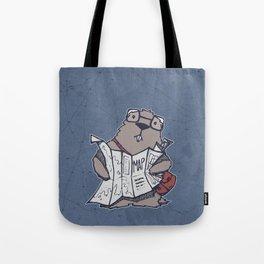 A Geeky Marmot Tote Bag