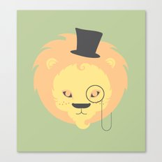 The Dandy-Lion Canvas Print