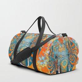 The Happy Blue Elephant Duffle Bag