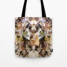 Cat Kaleidoscope Tote Bag