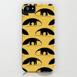 Angry Animals - Anteater iPhone Case