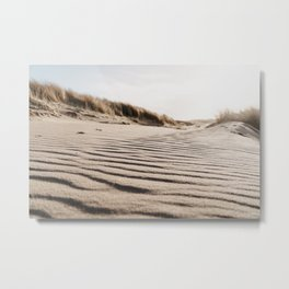 Dutch Dunes | Photo print sand dunes of Holland Metal Print