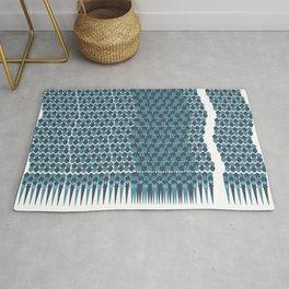 Cubist Ornament Pattern Rug