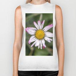Another beautiful white daisy flower Biker Tank