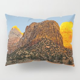 GLOWING EMBERS IN A SUNSET FOR THE DEVAS Pillow Sham