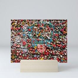 Gum Wall Mini Art Print
