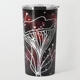 Red Space Magic Travel Mug