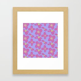 Clematis Framed Art Print