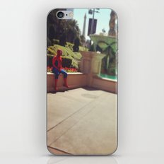 Spiderman, party of 1 iPhone Skin