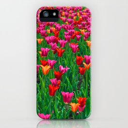 Ocean of Tulips - The Peace Collection iPhone Case