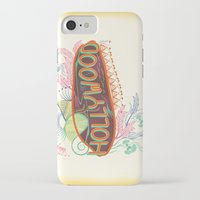 decorative iPhone & iPod Cases featuring Decorative Typographic by famenxt