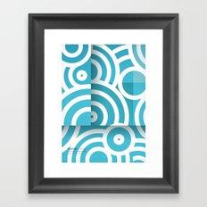 optical illusion_1 Framed Art Print