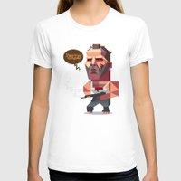 die hard T-shirts featuring John McClane - Die Hard by Robin Gundersen
