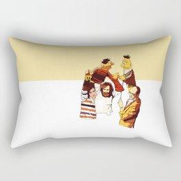 Bert & Ernie Muppets Rectangular Pillow