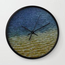 Water Rainbow Wall Clock
