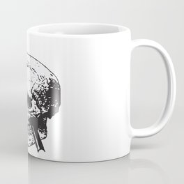 Frontal Lobotomy Skull Of Phineas Gage Vector Isolated Coffee Mug