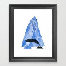 The Living Iceberg Framed Art Print