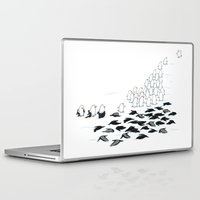 suit Laptop & iPad Skins featuring suit down by Ingrid Aspöck