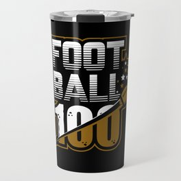 Football 100 Travel Mug