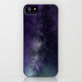 galaxy sky purple iPhone Case