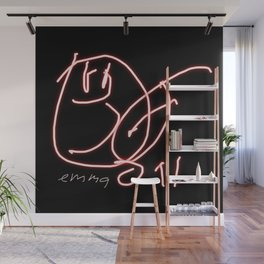 Hey Baby (signed) WB Wall Mural