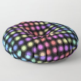 Disco Lights Floor Pillow
