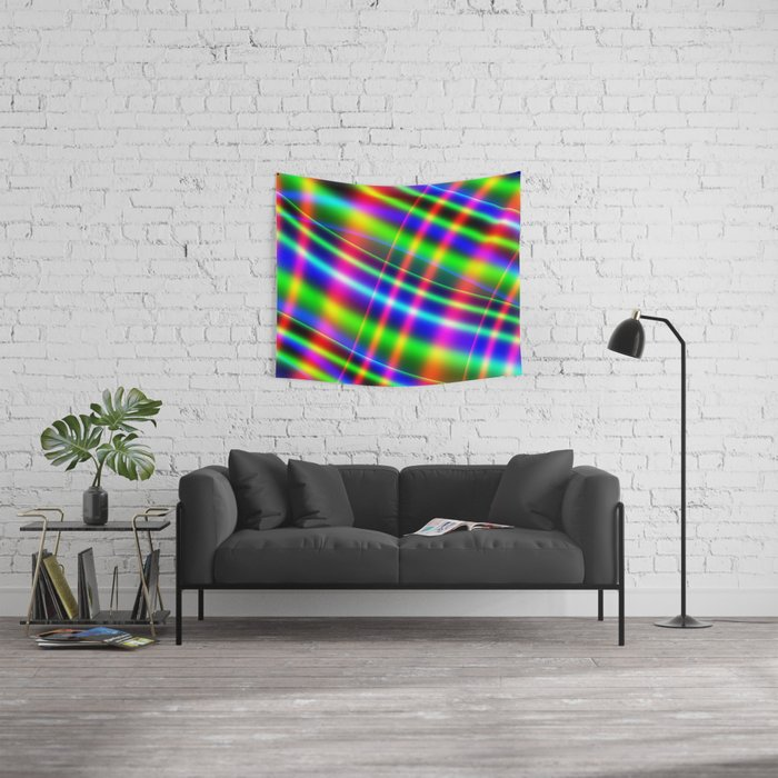 Bands of Beauty Wall Tapestry