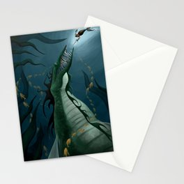The Loch Ness Monster Stationery Cards