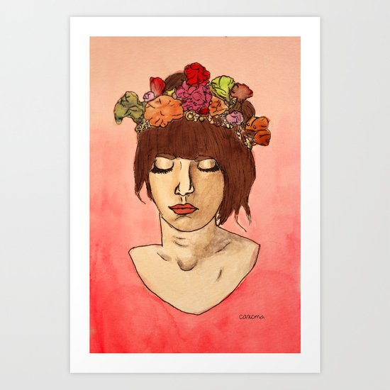 Is She Down To Earth or Just Hipster? Art Print
