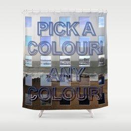 Postmodernism 10 Shower Curtain