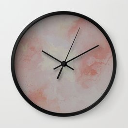 Sun-Filled Concrete Wall Clock