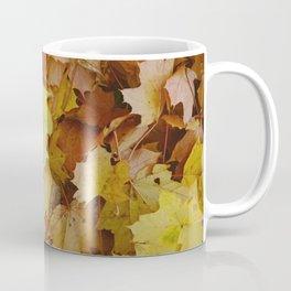 Autumn leaves background - Northern Hemisphere Coffee Mug