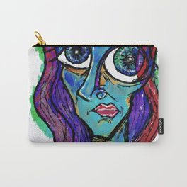 """Just another in my series of """"Blues."""" Carry-All Pouch"""