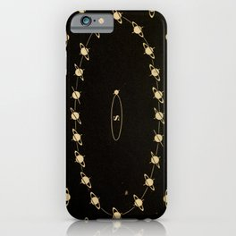 Kendall - Uranography; or a Description of the Heavens (1850) - Phases of Saturn iPhone Case