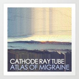 Atlas of Migraine by Cathode Ray Tube - Full Cover Art Print
