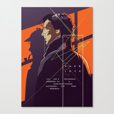Sherlock - alternative movie poster Canvas Print